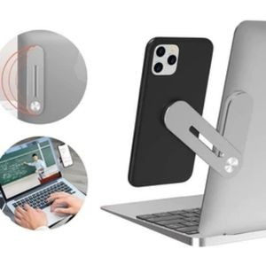 MAGNETIC SMARTPHONE SIDE MOUNT FOR LAPTOPS